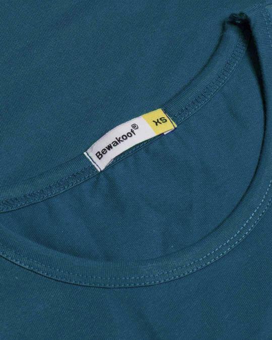 Shop Geometric Panda Round Neck 3/4th Sleeve T-Shirt