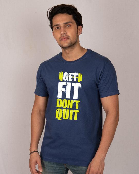 Shop Get Fit Half Sleeve T-Shirt-Front