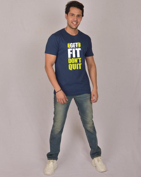 Shop Get Fit Half Sleeve T-Shirt-Design
