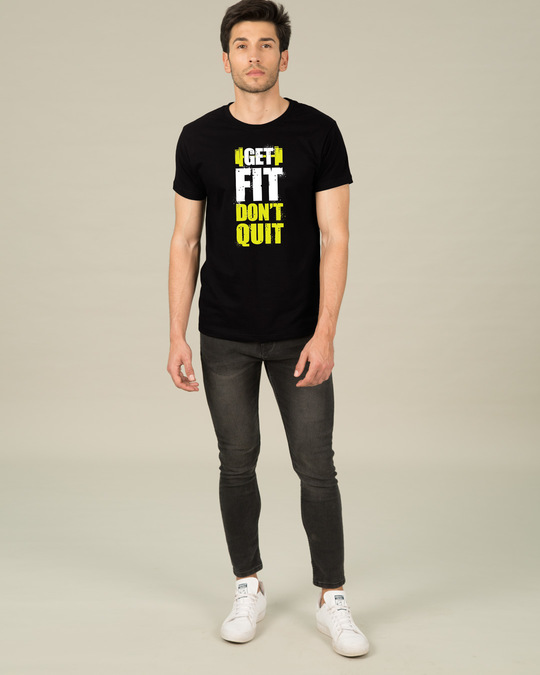 Shop Get Fit Half Sleeve T-Shirt-Design
