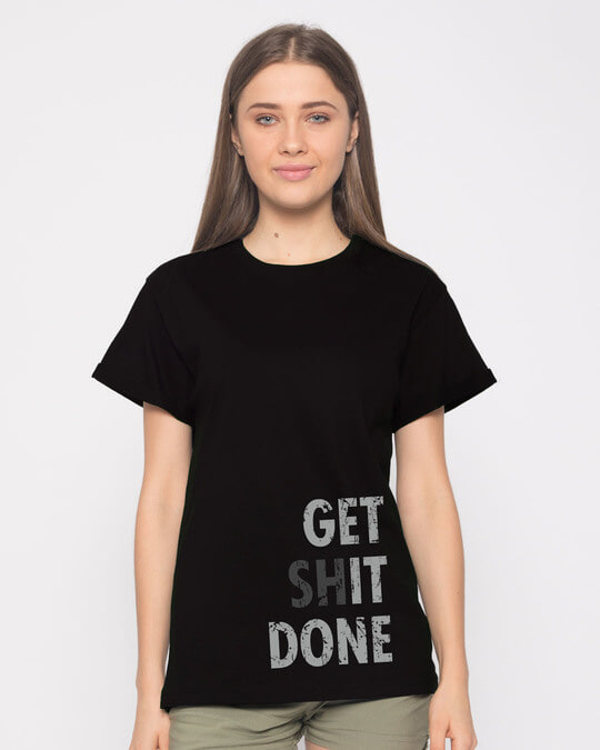 Shop Get It Boyfriend T-Shirt-Front