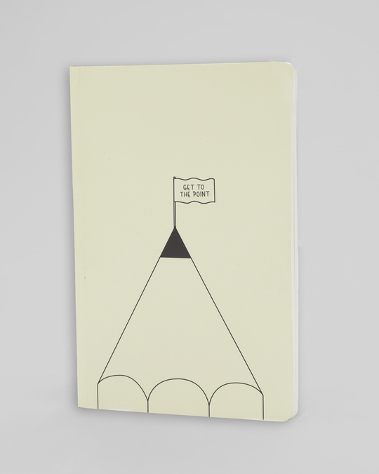 Shop Get To The Point Notebook-Full