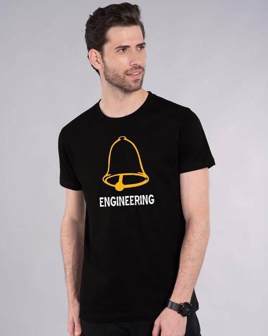 Shop Ghanta Engineer Vintage Half Sleeve T-Shirt-Front