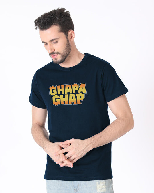 Shop Ghapa Ghap Half Sleeve T-Shirt-Design
