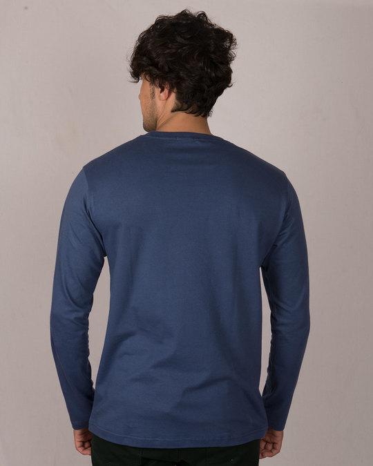 Shop Ghost Dab Glow In Dark Full Sleeve T-Shirt -Back