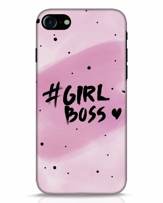 timeless design bb95a fa5e7 Girl Boss iPhone 8 Mobile Cover