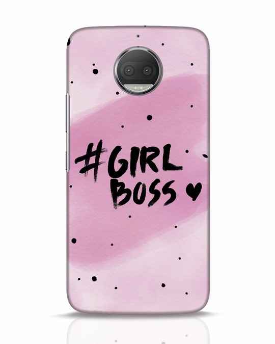 Shop Girl Boss Moto G5s Plus Mobile Cover-Front