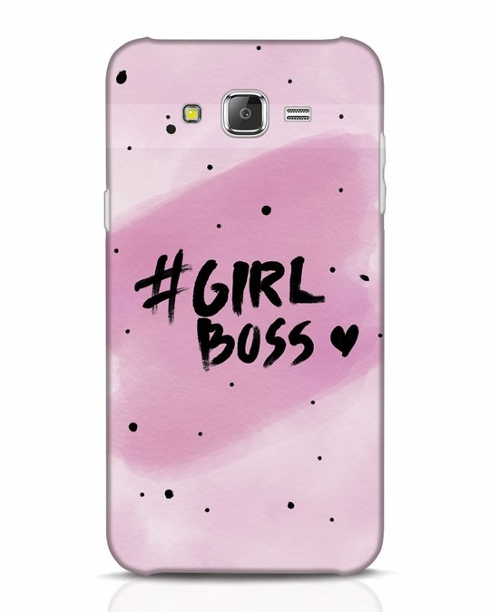 Shop Girl Boss Samsung Galaxy J7 Mobile Cover-Front