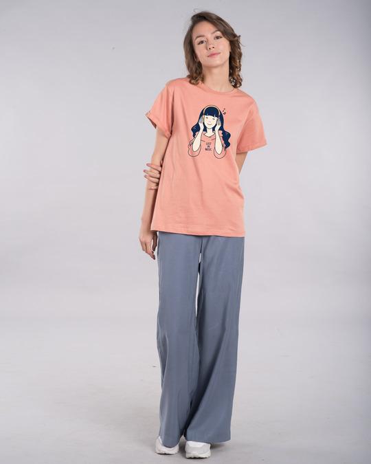 Shop Girl Lost In Music Boyfriend T-Shirt-Design
