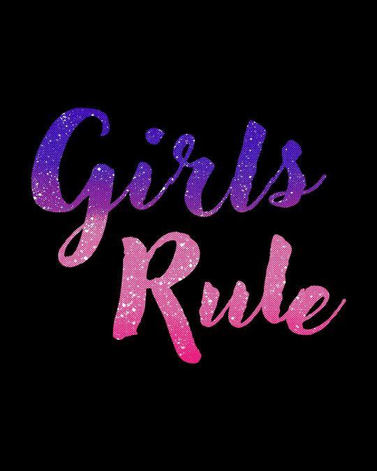 Shop Girls Rule Boyfriend T-Shirt