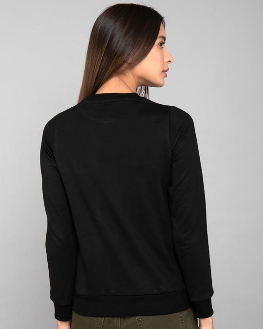 Shop Girls Rule Fleece Light Sweatshirt-Back