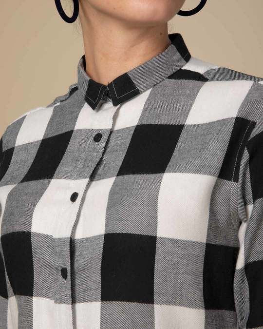 Shop Glen Plaid Black Check Slim Shirt