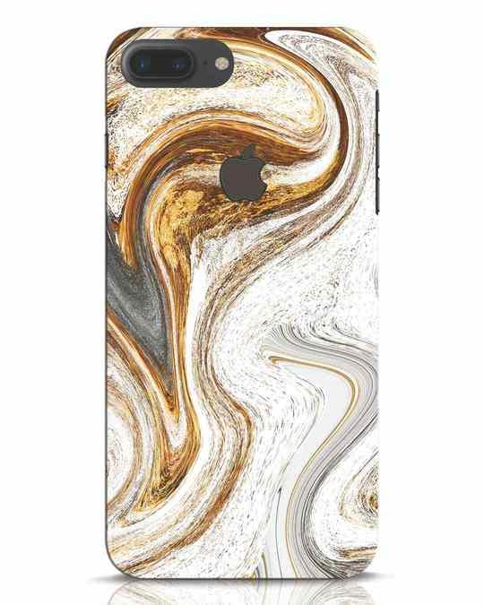 Shop Glitterarti iPhone 7 Plus Logo Cut Mobile Cover-Front