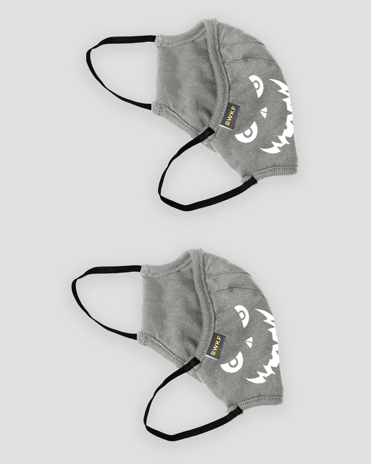 Shop Glow Face Everyday Printed Fasion Mask 2.0 Single-Back