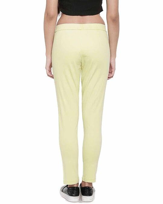Shop Go Colors Bright Yellow Denim Jeggings-Design