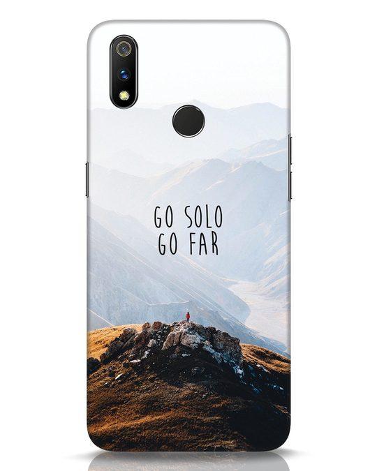 Shop Go Solo And Far Realme 3 Pro Mobile Cover-Front