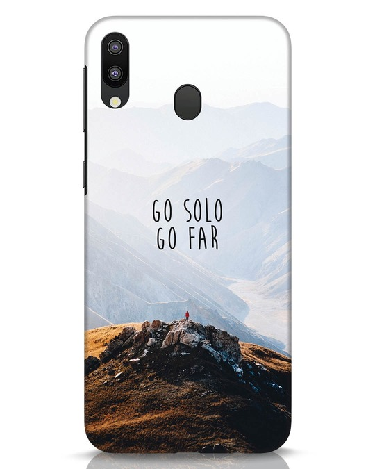 Shop Go Solo And Far Samsung Galaxy M20 Mobile Cover-Front