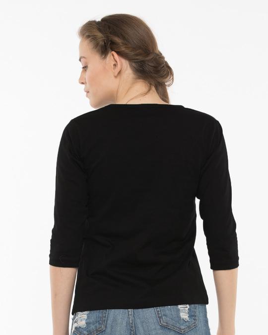 Shop Go To Sleep Round Neck 3/4th Sleeve T-Shirt-Full