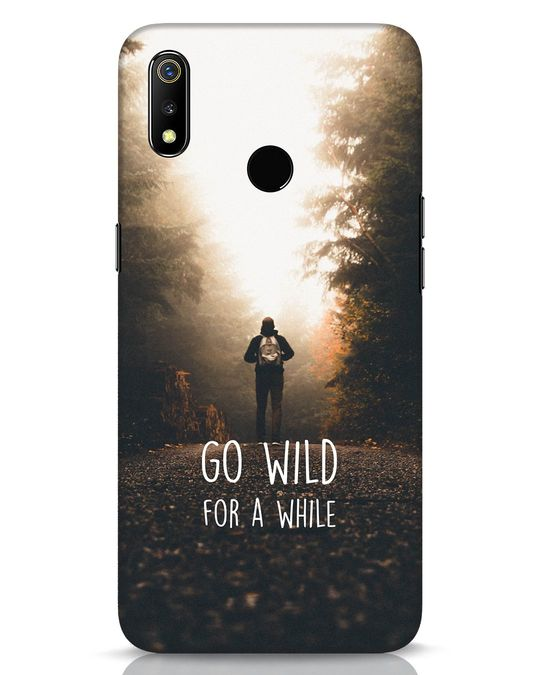Shop Go Wild For A While Realme 3 Mobile Cover-Front