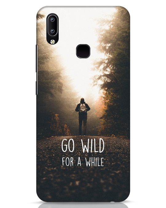 Shop Go Wild For A While Vivo Y91 Mobile Cover-Front