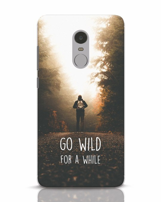 Shop Go Wild For A While Xiaomi Redmi Note 4 Mobile Cover-Front
