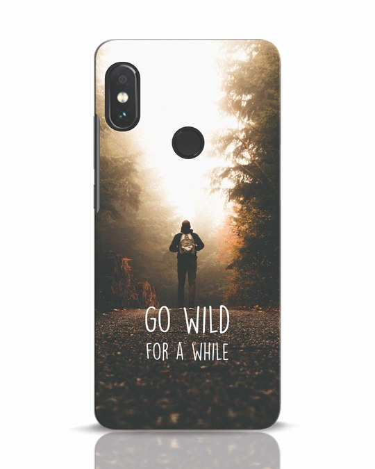 Shop Go Wild For A While Xiaomi Redmi Note 5 Pro Mobile Cover-Front