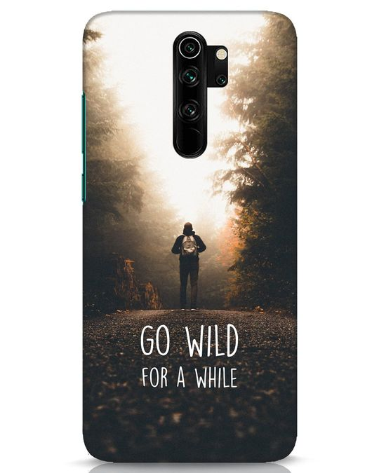 Shop Go Wild For A While Xiaomi Redmi Note 8 Pro Mobile Cover-Front