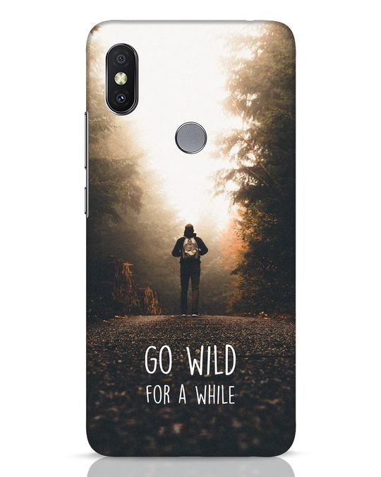 Shop Go Wild For A While Xiaomi Redmi Y2 Mobile Cover-Front