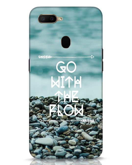 Shop Go With The Flow Oppo A5s Mobile Cover-Front
