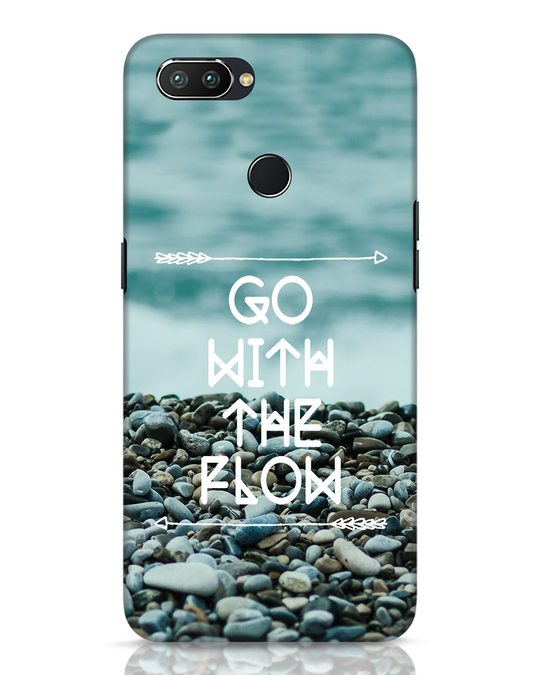 Shop Go With The Flow Realme 2 Pro Mobile Cover-Front