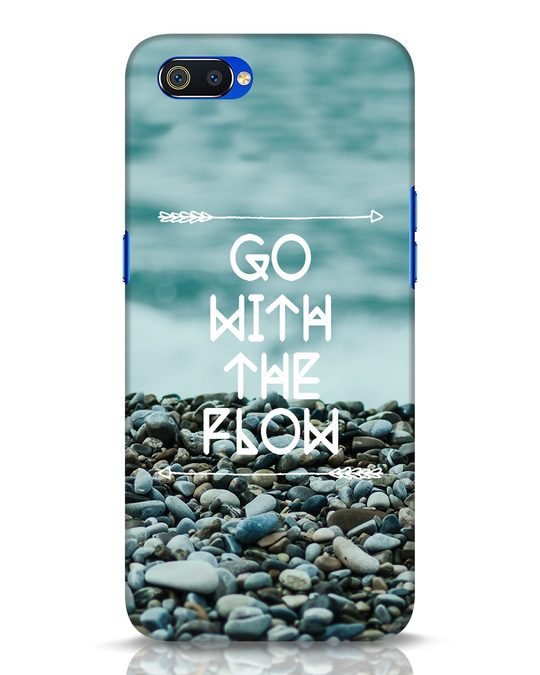 Shop Go With The Flow Realme C2 Mobile Cover-Front