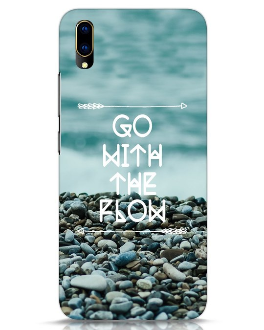 Shop Go With The Flow Vivo V11 Pro Mobile Cover-Front