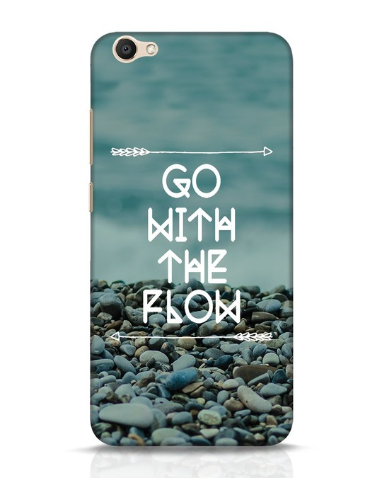 Shop Go With The Flow Vivo V5 Mobile Cover-Front
