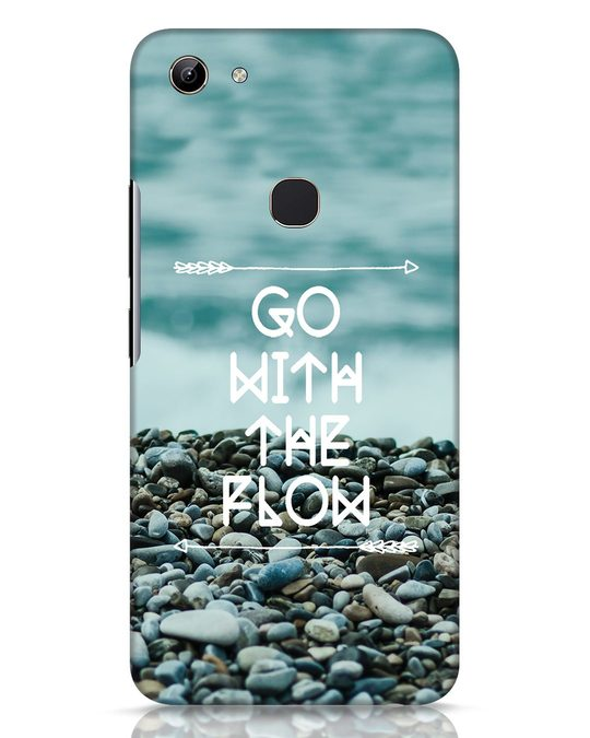 Shop Go With The Flow Vivo Y81 Mobile Cover-Front