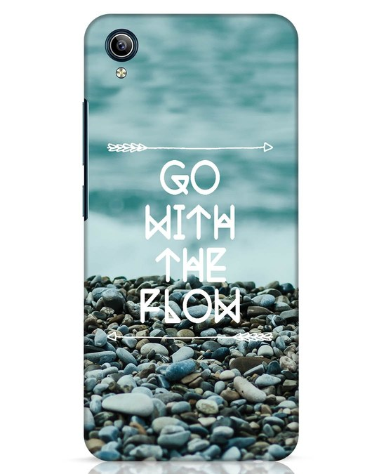 Shop Go With The Flow Vivo Y91i Mobile Cover-Front