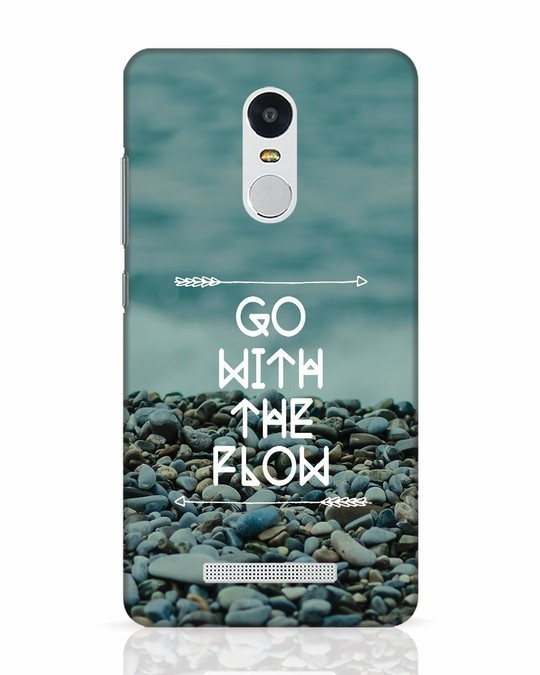 Shop Go With The Flow Xiaomi Redmi Note 3 Mobile Cover-Front