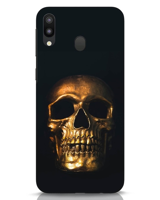 Shop Golden Skull Samsung Galaxy M20 Mobile Cover-Front