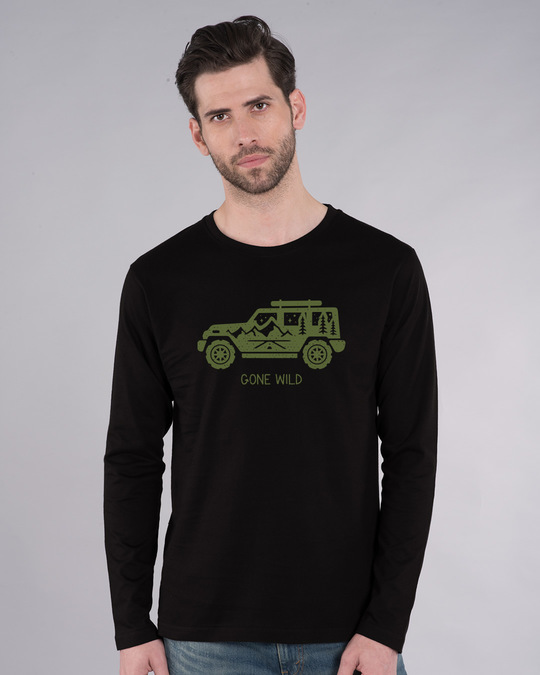 Shop Gone Wild Full Sleeve T-Shirt-Front