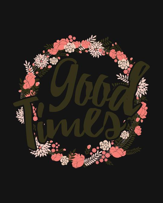 Shop Good Times Half Sleeve Raglan T-Shirt (DL)-Full