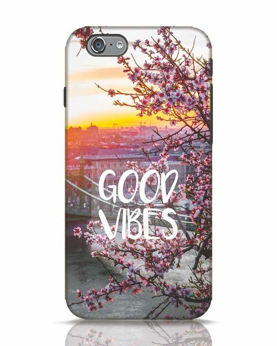 Shop Good Vibes iPhone 6s Mobile Cover-Front