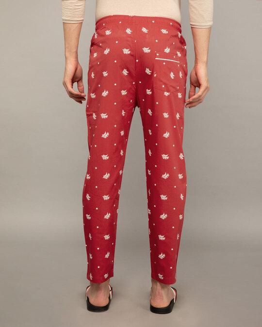Shop Good Vibes Pattern All Over Printed Pyjama-Design