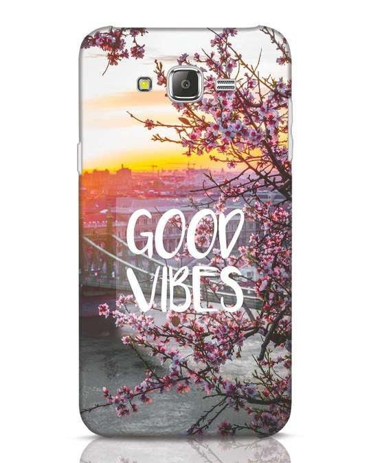 Shop Good Vibes Samsung Galaxy J7 Mobile Cover-Front