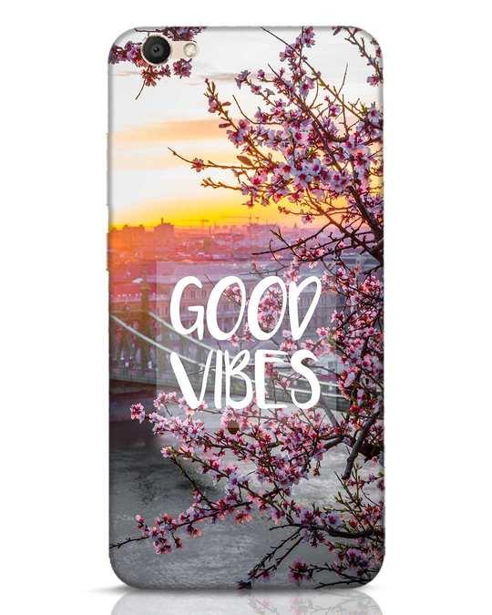 Shop Good Vibes Vivo V5 Mobile Cover-Front