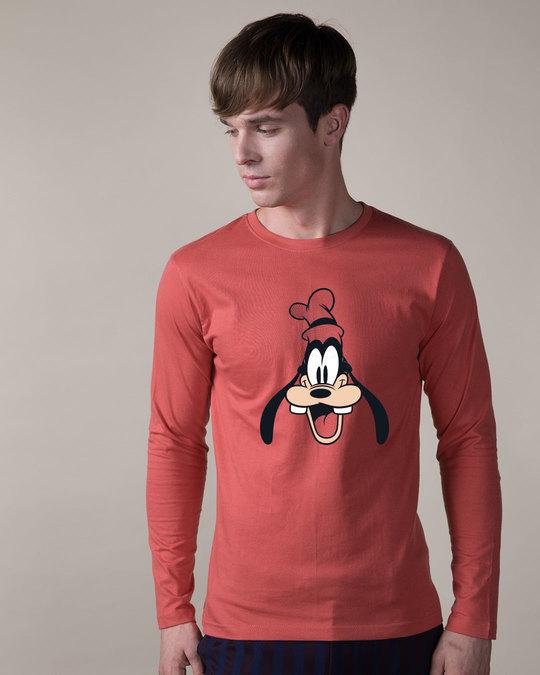 Shop Goofy Goofed Up Full Sleeve T-Shirt (DL)-Front