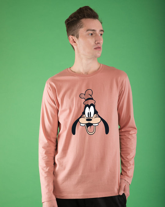 Shop Goofy Goofed Up Full Sleeve T-Shirt (DL)-Front