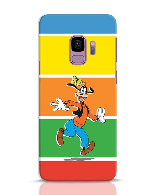 Shop Goofy Samsung Galaxy S9 Mobile Cover-Front