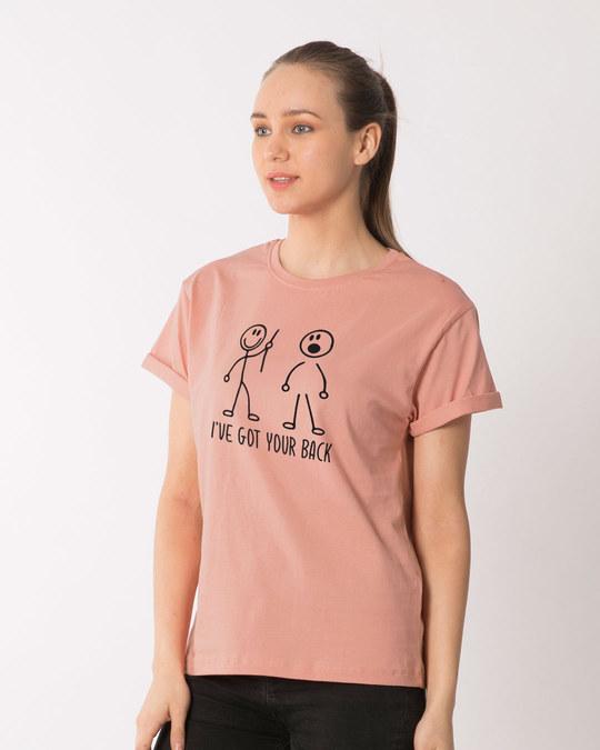 Shop Got Your Back Boyfriend T-Shirt-Back