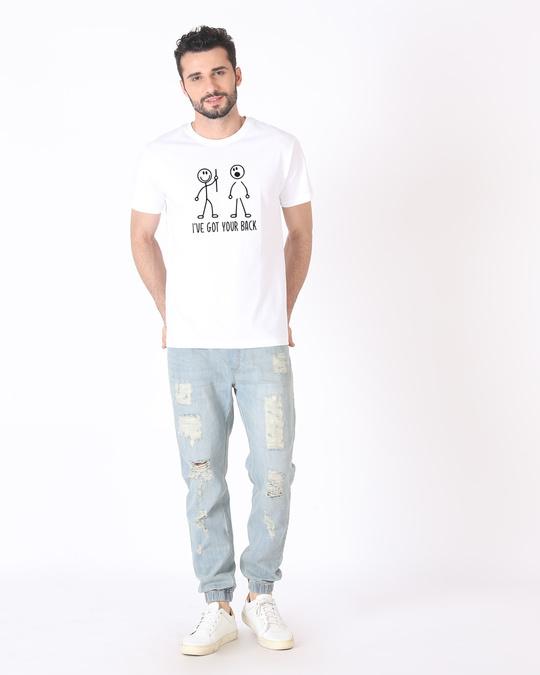 Shop Got Your Back Half Sleeve T-Shirt