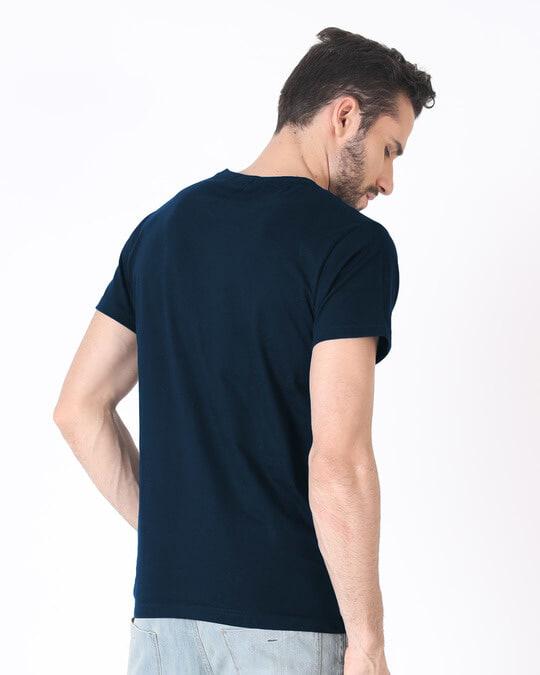 Shop Gradient Devil Inside Half Sleeve T-Shirt-Full