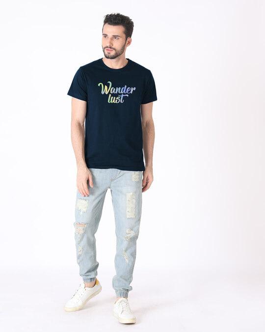 Shop Gradient Wanderlust Half Sleeve T-Shirt